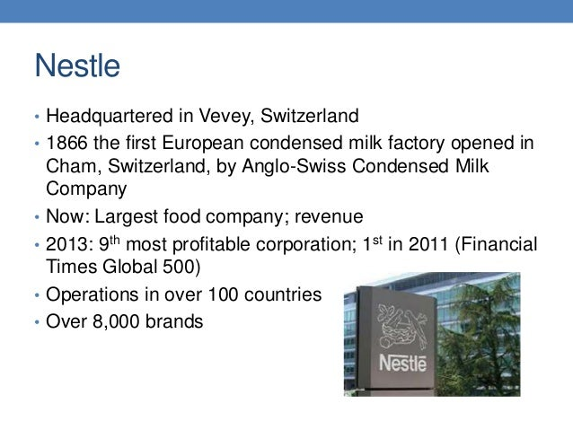 case study of nestle the infant formula incident Nestle case studycase study: nestle introduction: case 1 2 nestl : the infant formula controversy nestl alimentana of vevey nestle case study question 1: analyze nestl using.