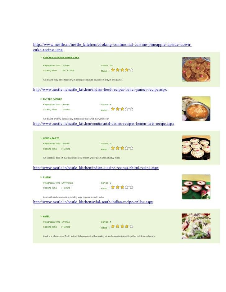 Nestle Kitchen  - Milkmaid Recipes