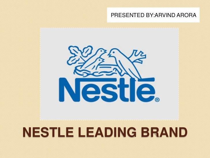 Nestle leading brand