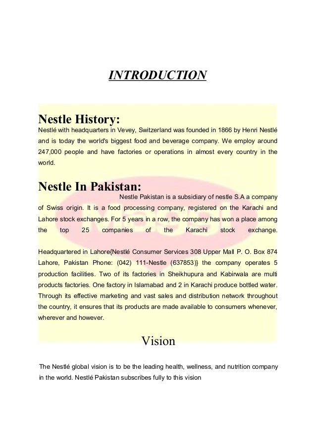 product attributes of nestle marketing essay Nestle introduction these attributes are still nesvita(formerly known as nestum), as well as pet care products such as purina and friskies nestle has.