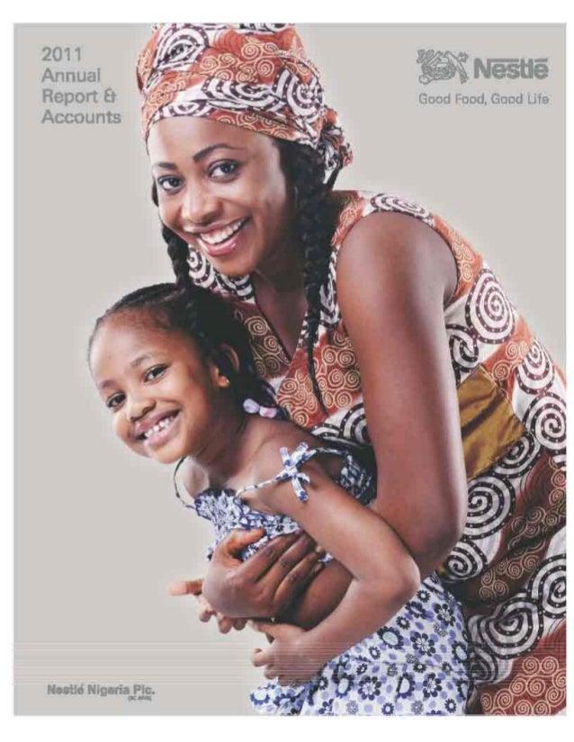 Nestle Nigeria Annual Report 2011