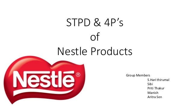 marketing tool 4 ps of nestle The segmentation, targeting, positioning & differentiation of different nestle products 4p's which help the brand for better marketing strategy.