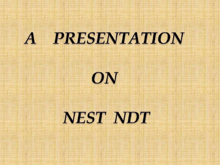 Nest (National Employment Service and                Training)