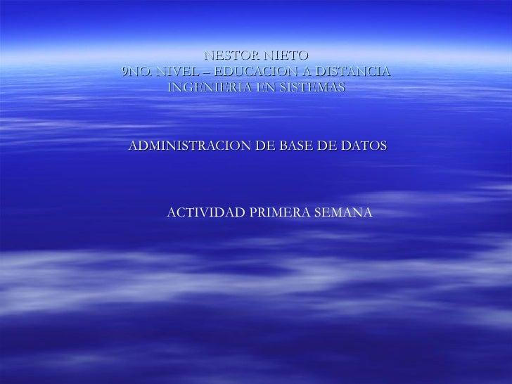 Nestor Nieto BaseDatos_Tarea01