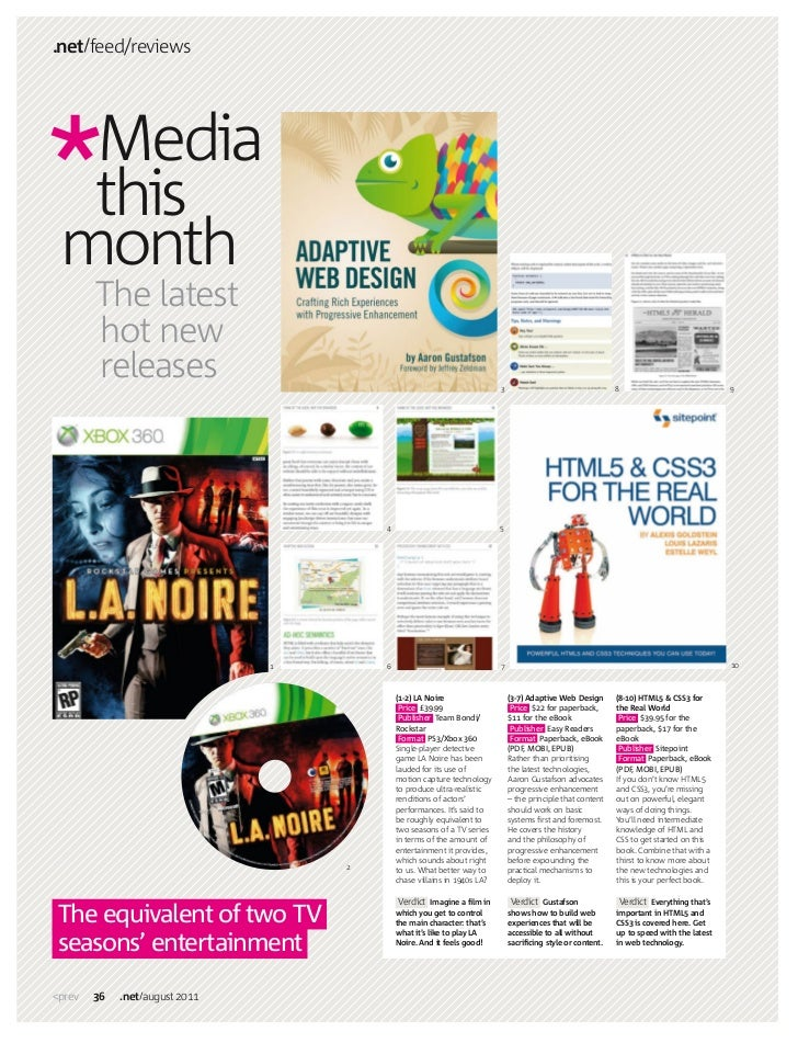 .net feed/reviews  Media  this month        The latest        hot new        releases                                     ...