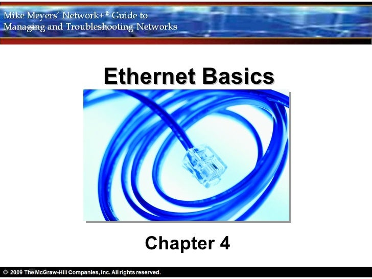 Networking Chapter 4