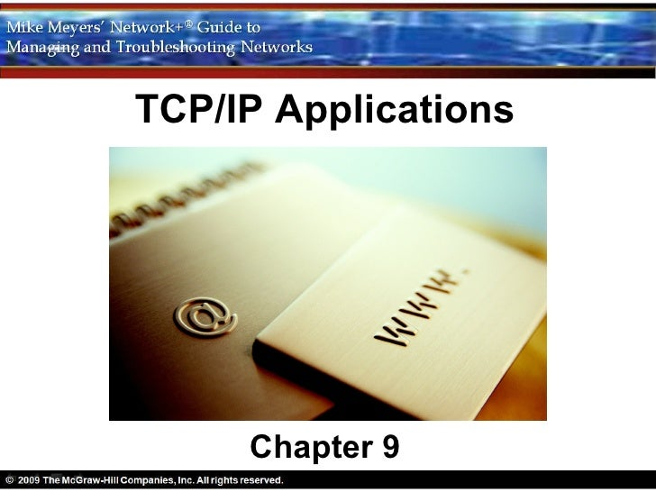 TCP/IP Applications     Chapter 9