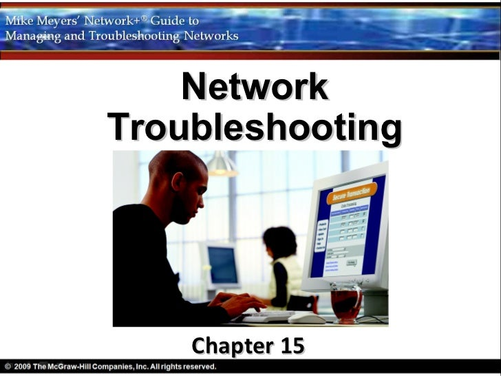 NetworkTroubleshooting    Chapter 15