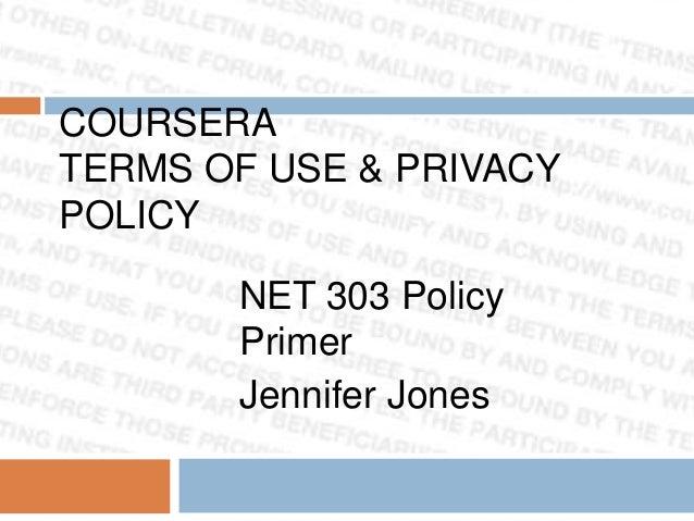 Net 303 policy primer