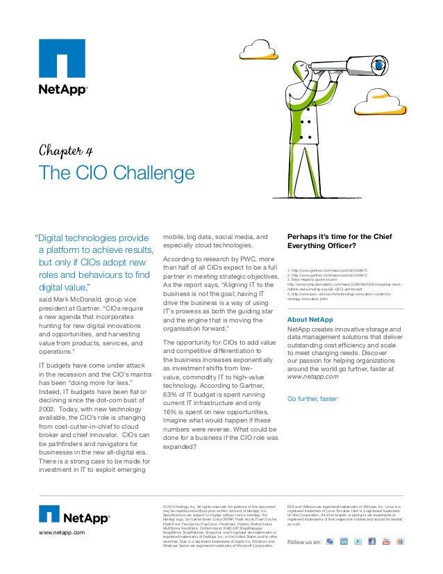 The CIO Challenge