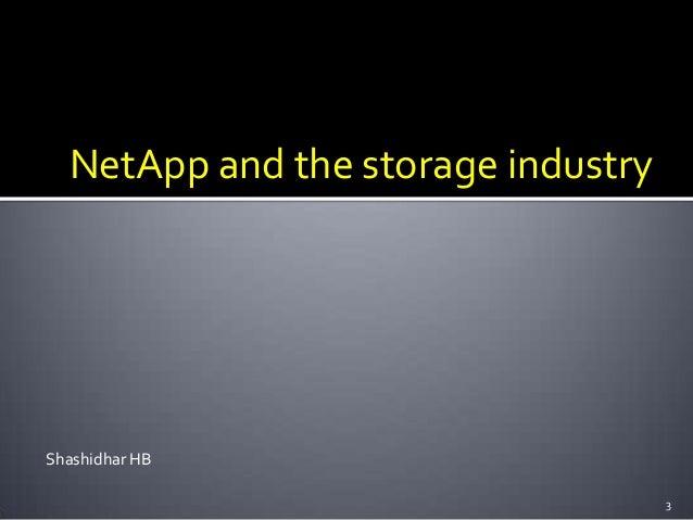 NetApp & Storage fundamentals
