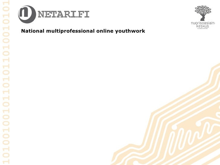 National multiprofessional online youthwork