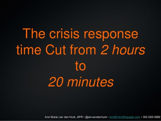 How can we avoid this crisis?