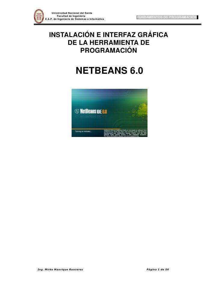 manual Net beans 6.0 Español
