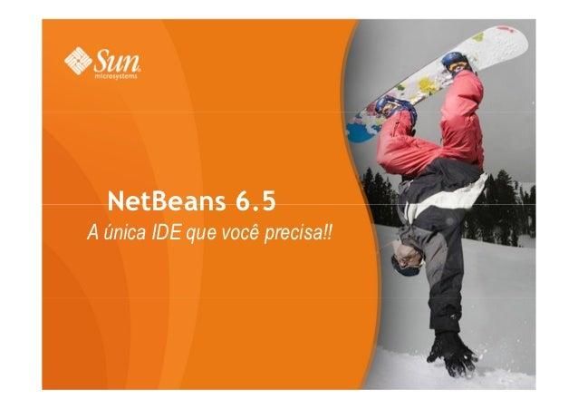 NetBeans 6.5A única IDE que você precisa!!