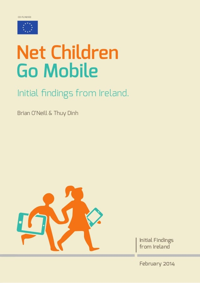 Net Children Go Mobile Initial Findings From Ireland