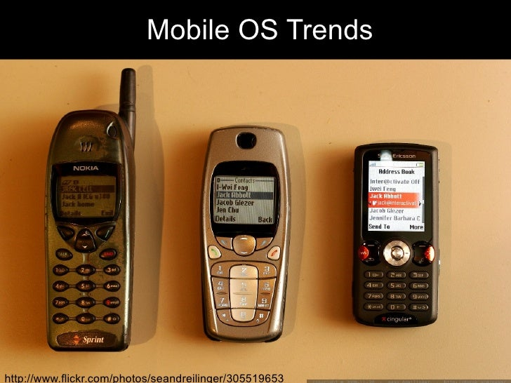 Mobile OS Trends http://www.flickr.com/photos/seandreilinger/305519653/