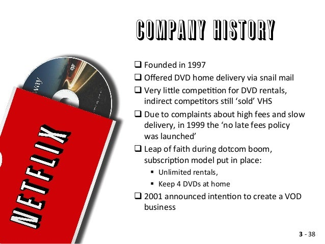 netflix a case analysis Netflix in 2011 menu netflix in 2011 case study willy shih reed hastings founded netflix to provide a home movie service that would do a better.