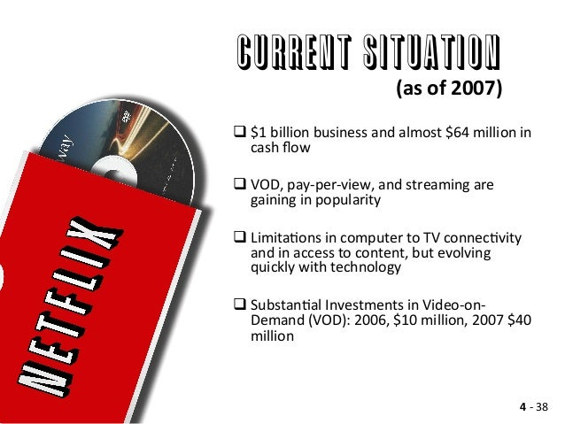 case study netflix com inc essay Netflix case wwwgallaughercom p 1 netflix case study: david becomes goliath a gallaughercom case provided free to faculty & students for non-commercial use.