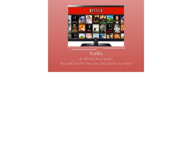Netflix business proposal