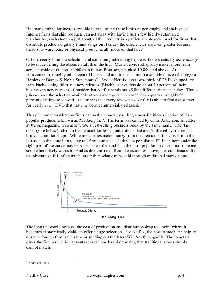 netflix case study solution