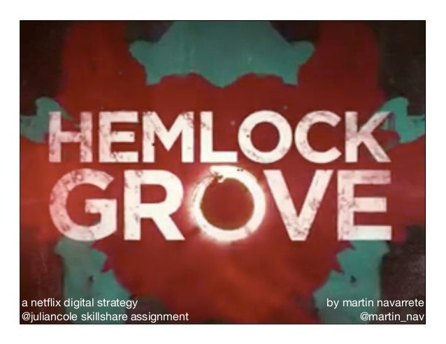Netflix Digital Strategy for Hemlock Grove