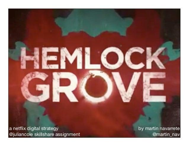 Netflix Digital Strategy for Hemlock Grove