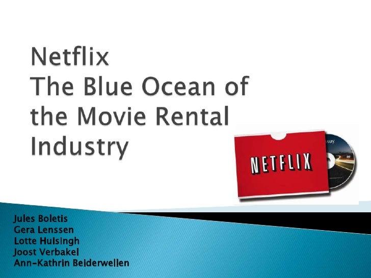 netflix versus blockbuster versus video on demand