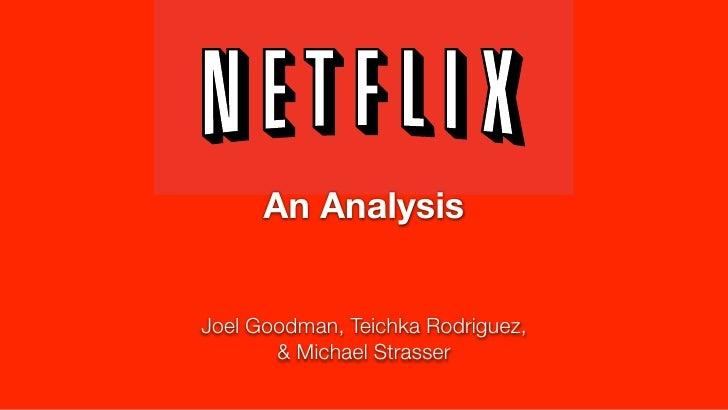 Netflix: An Analysis