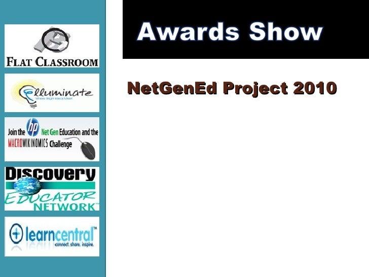 NetGenEd (Flat Classroom tm) Project 2010 Awards