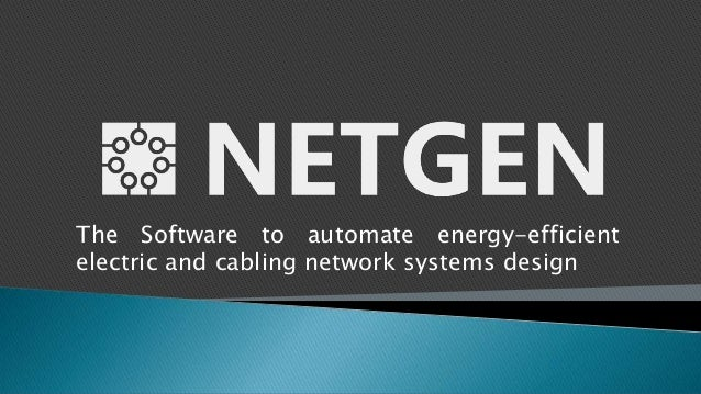 The Software to automate energy-efficientelectric and cabling network systems design