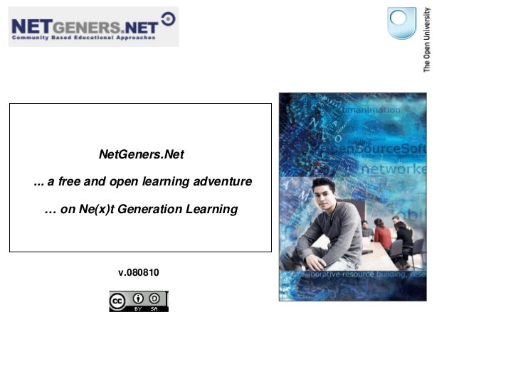 NetGeners.Net – A Free and Open Learning Adventure