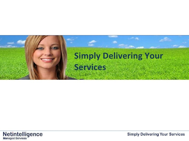 Simply Delivering Your Services
