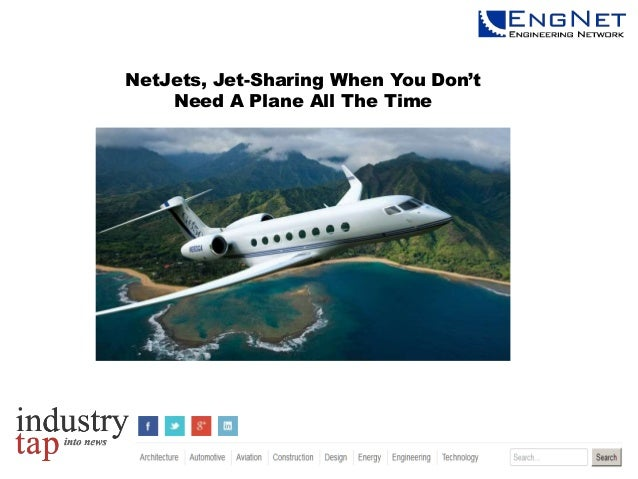 NetJets, Jet-Sharing When You Don't Need A Plane All The Time