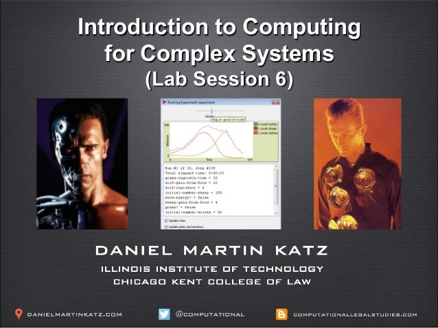 Introduction to Computing for Complex Systems (Lab Session 6)