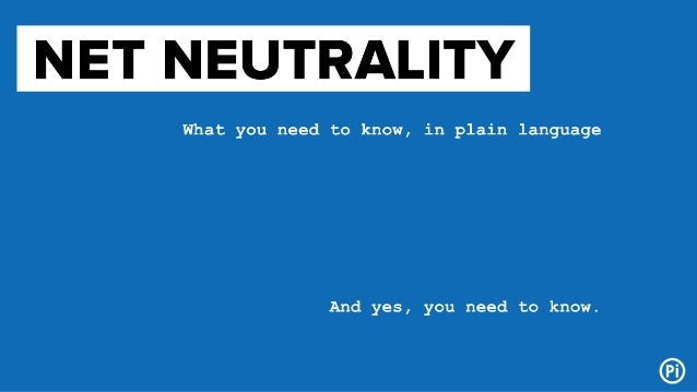 How to Make Sense of Net Neutrality