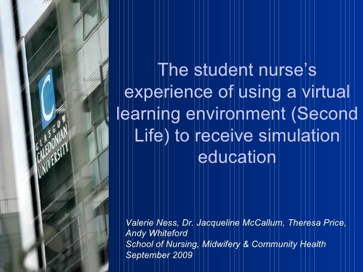 Valerie Ness, Dr. Jacqueline McCallum, Theresa Price, Andy Whiteford School of Nursing, Midwifery & Community Health  Sept...