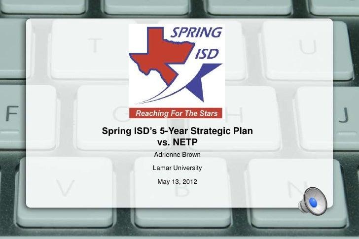 NETP vs SpringISD