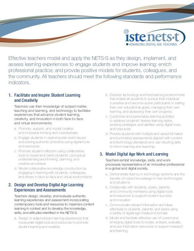 Nets teachers-standards