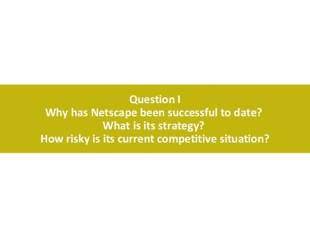 netscapes ipo Our answer for netscape ipo - harvard business case.