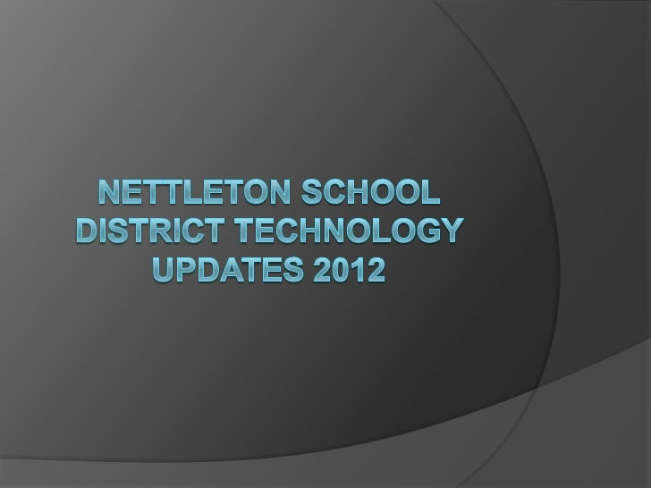 District Overview   All buildings have wireless internet access   There are a total of 8 computer labs in the    distric...