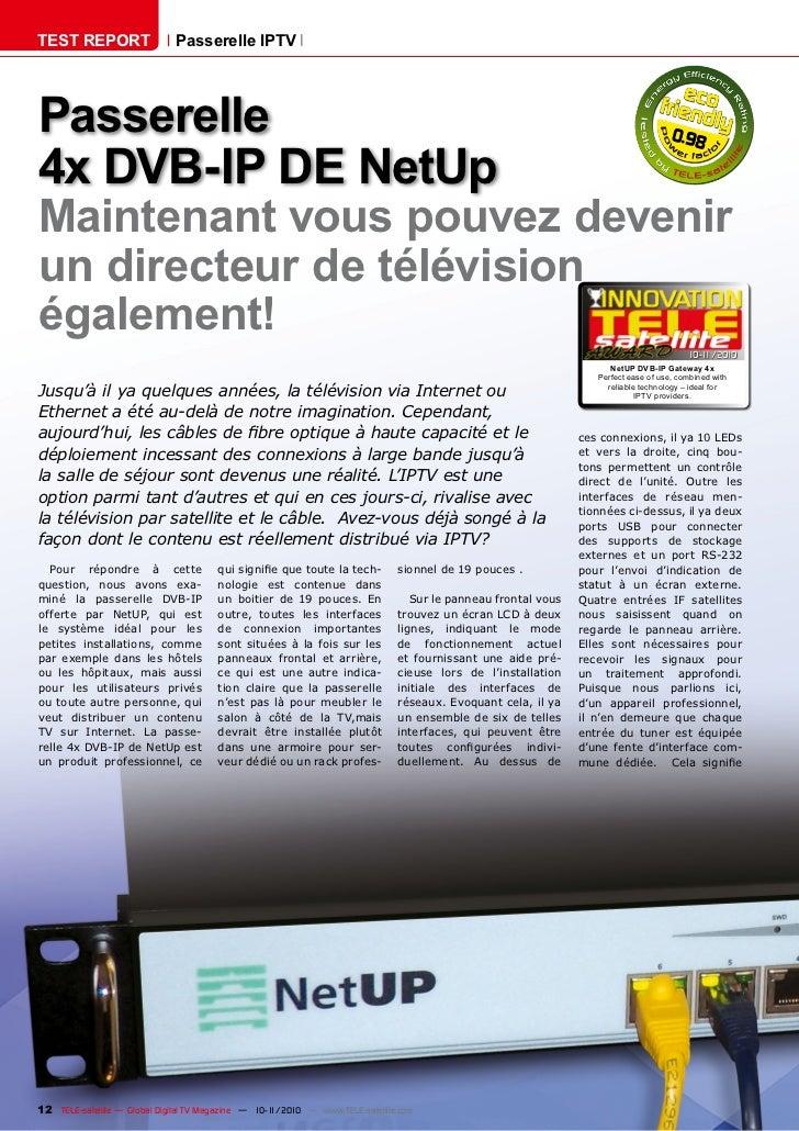 TEST REPORT                   Passerelle IPTVPasserelle                                                                   ...
