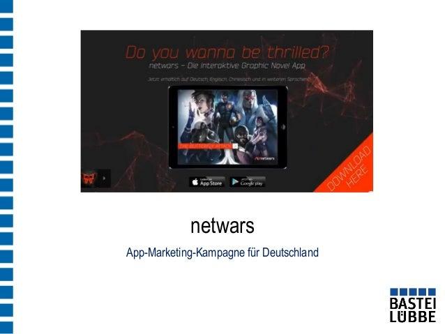 App-Marketing-Kampagne für Deutschland  netwars