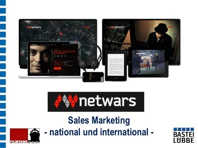 Sales Marketing - national und international -