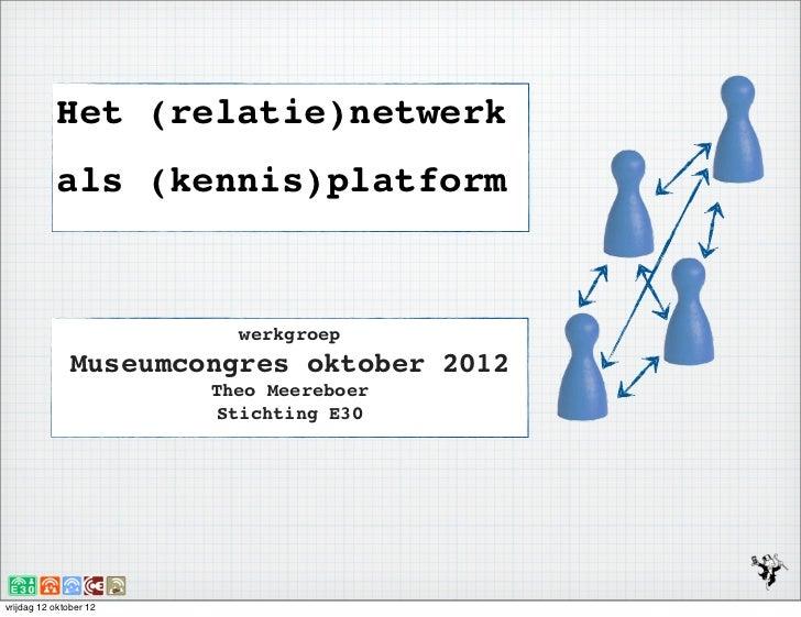 Netwerk als platform2