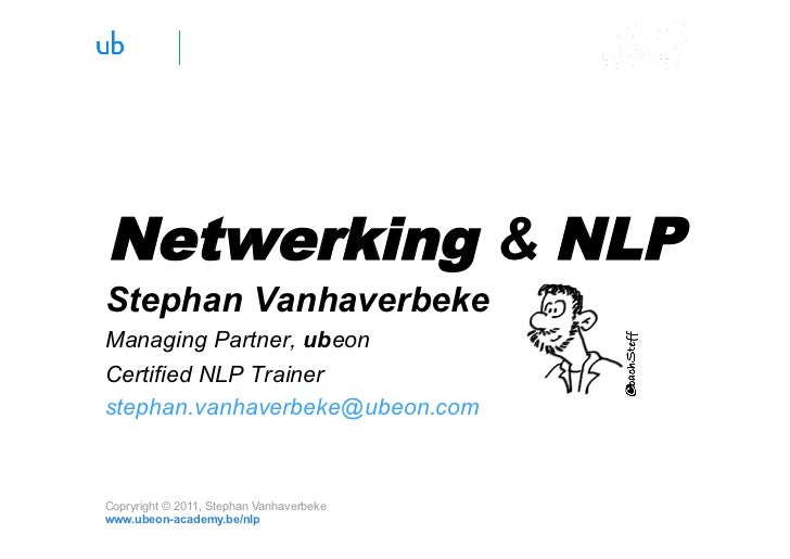 Netwerking & NLP