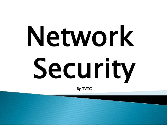 Network Security By TVTC