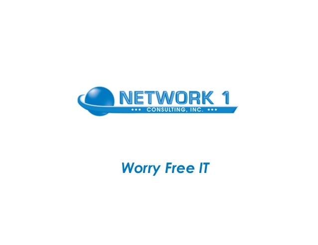 Network 1: IT Support for Law Firms & Medical Practices in Atlanta