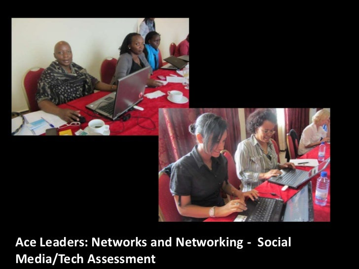 Ace Leaders: Networks and Networking - SocialMedia/Tech Assessment