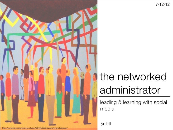 The Networked Administrator